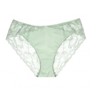Vibes La Perla klassikalised püksid heleroheline