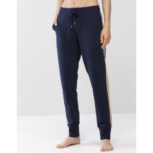 Lounge cotton pants dark blue