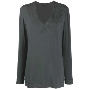 Maison home La Perla Long-sleeved shirt gray