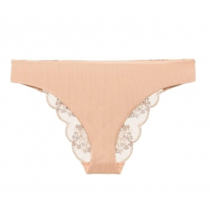 Flower Explosion La Perla Brazilian brief beige