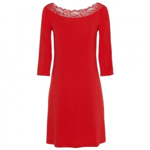 Layla La Perla night gown red