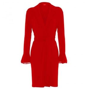 Layla La Perla домашний халат красный