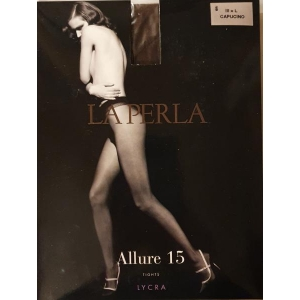 Allure La Perla  tights 15 capucino L