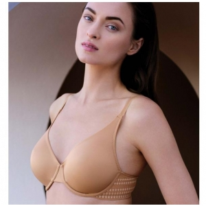Praline invisible undrewired bra beige C 75