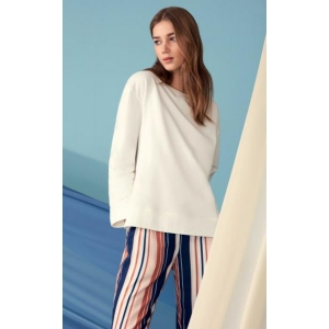 Eva cotton sweater ivory M