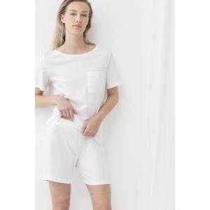Bio Cotton bermuda shorts ivory