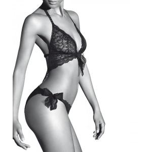 Aubade Boite A Desir trikini gift box black