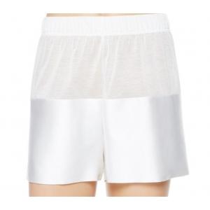 Merveille La Perla silkki shortsit valkoinen M