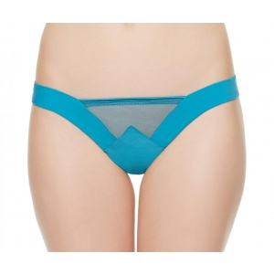Edenic string brief turquoise