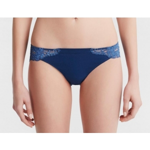 Souple La Perla cotton string brief blue