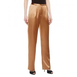 Glimmering La Perla однотонные золотистого цвета брюки M