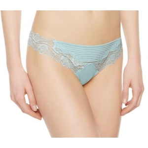 Whisper string brief aqua L/XL