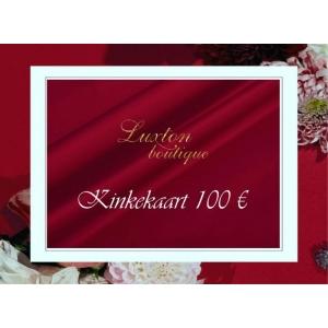 KINKEKAART 100 €