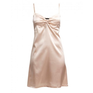 Adrianna silk night dress beige