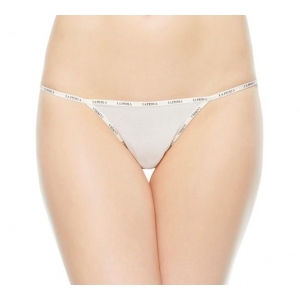 Sexy Town string brief ivory