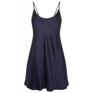 Silk nightdress blue