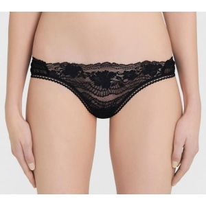 Lapis Lace string black