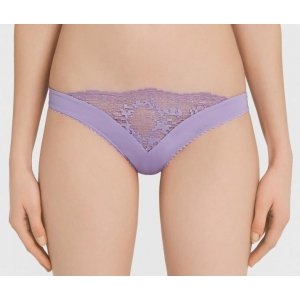 Topaz string brief lila