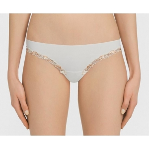 Love Stone string brief Ivory