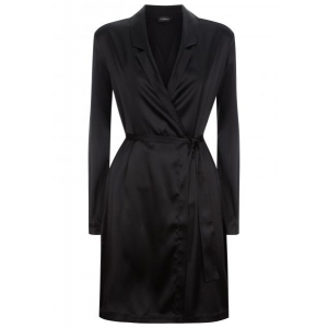 Silk Reward robe black