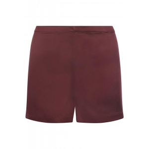 Silk Reward shorts wine red