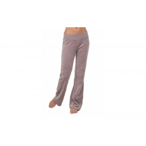 Velour pants gray