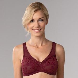 Donna soft bra burgundy
