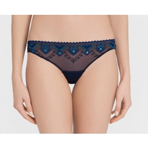 Neo Goth brief dark blue