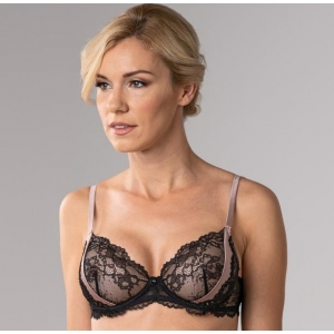Art Deco underwired bra
