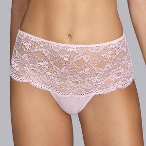 Turqueta korkeavyötäröiset housut pinkki