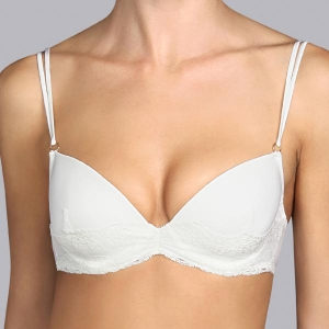 Verbier push up rintaliivi ivory