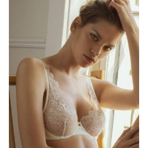 Floral Dream underwired bra ivory