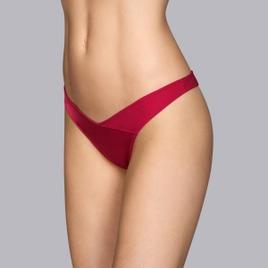 Tiziano string brief cherry red