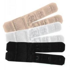 Bra extender 2 hooks nude, black, white 3 pack
