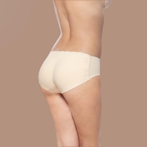 Padded panties Low waist nude