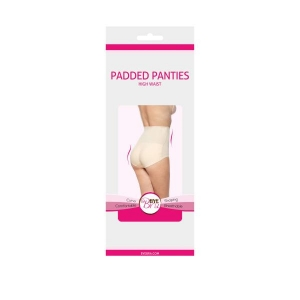 Padded panties high waist nude