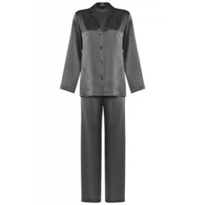 Silk pyjama silver